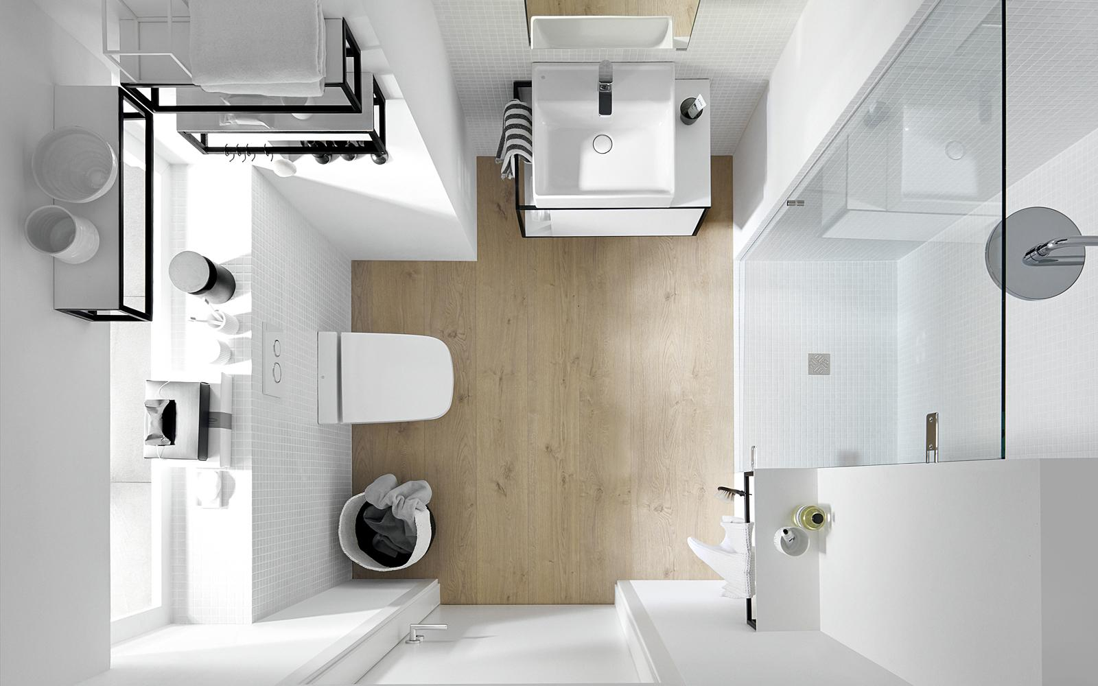 Einrichtungstipps für kleine Badezimmer  Neudorfer